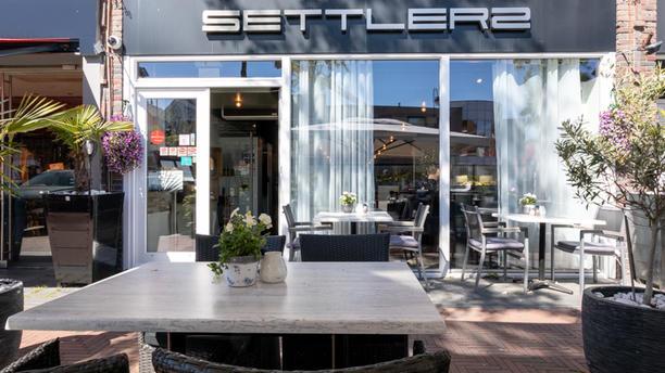 Restaurant en lounge Settlers Terras