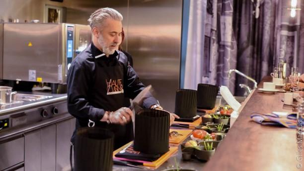 W verbier pr sente haute cuisine in bagnes menu for W kitchen verbier menu