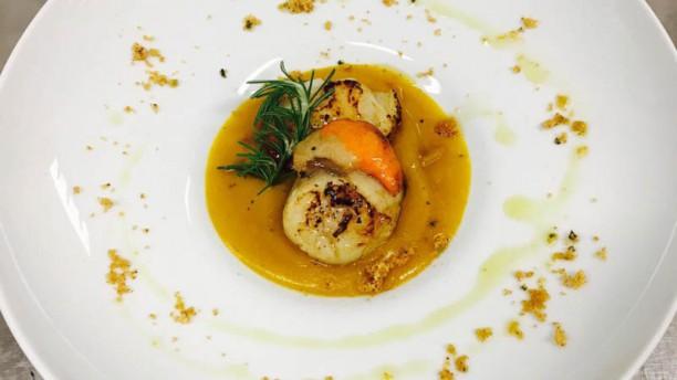 Pescheria Bistrot Fish Corner Capesante piastrate su crema di zucca