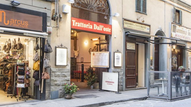 Esterno - Trattoria dall'Oste Chianineria - Duomo, Firenze