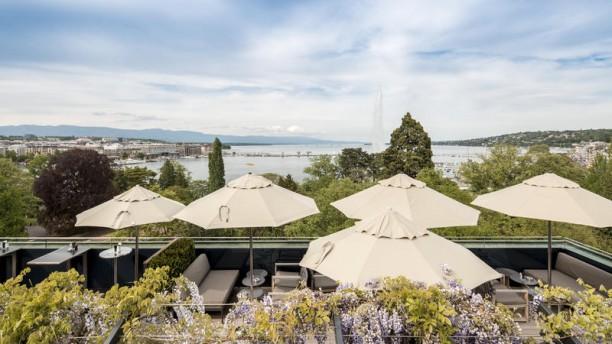 Hôtel Métropole Genève - 5 Lounge Bar Restaurant Vue