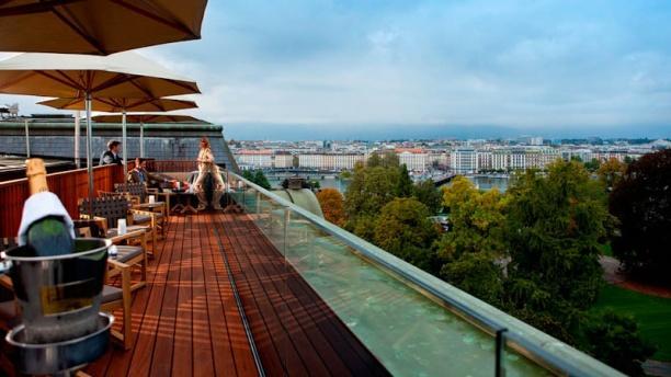 Swissôtel Metropole - 5 Lounge Bar Restaurant Vue terrasse