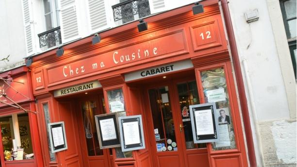 Chez Ma Cousine Cabaret Bienvenue au restaurant Chez ma Cousine