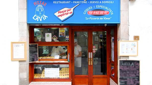 Pizzas L'avia Fachada