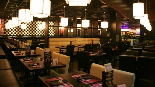 Kiyoshi Japanse Sushi & Grill Restaurant Vue de la salle