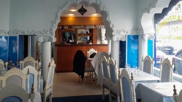 Palais du Kashmir Vue de l'intérieur