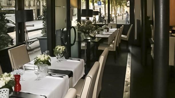 Le 154 Restaurant vue de la salle