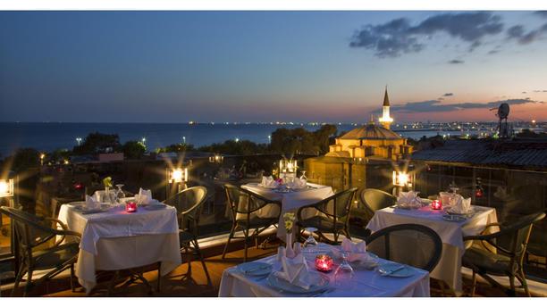 Restaurant the home terrace restaurant istanbul avis for Terrace 45 restaurant