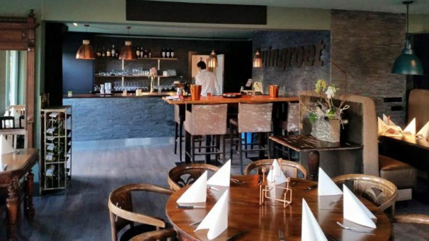 Duingroet Eten & Drinken restaurantzaal