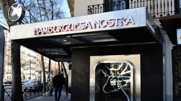 Hamburguesa Nostra - Glorieta de Bilbao Entrada