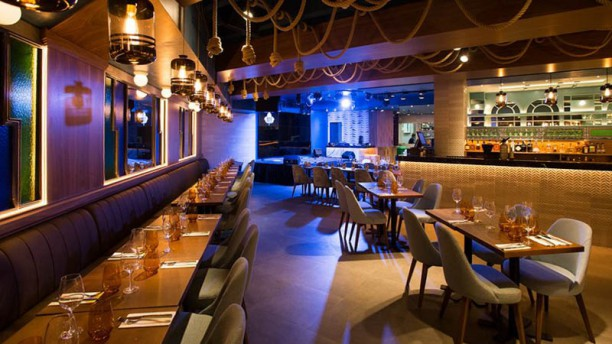 Ivy Resto Lounge Vista sala