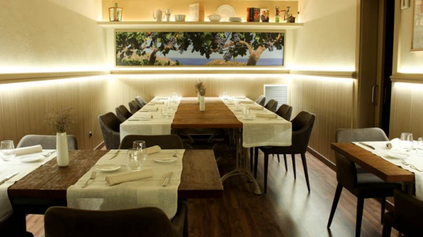 Maran restaurant Marques & Ansesa Vista sala
