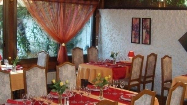 Auberge de l'Épine Salle du restaurant