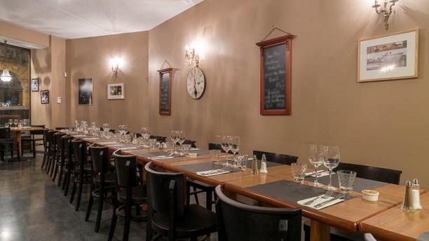 Café des Gourmets Vue de la salle
