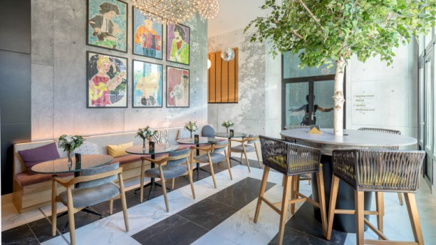 Studio32 Hotel Barceló Imagine In Madrid Restaurant