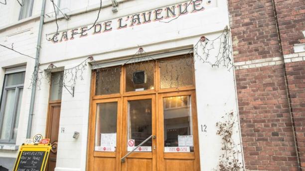 Café de l'Avenue Vue extérieure