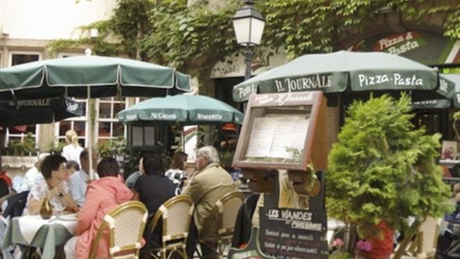 Vue terrasse - Il Journale, Strasbourg
