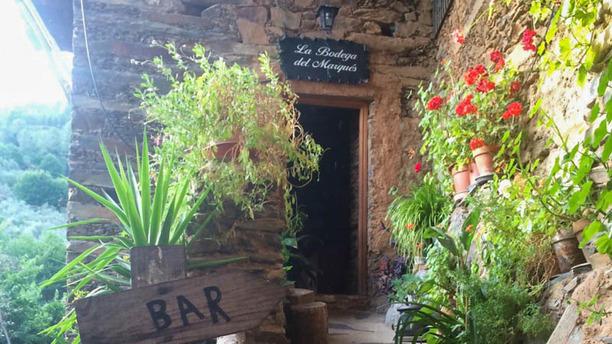 Meson la Bodega Del Marques Vista entrada
