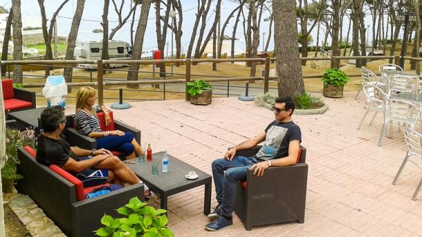 Restaurant Camping Palamós Vista terraza