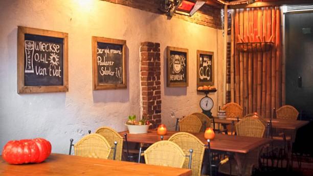 Eetcafé Pandarve Het restaurant