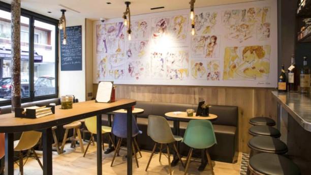 Wim à Table Salle du restaurant