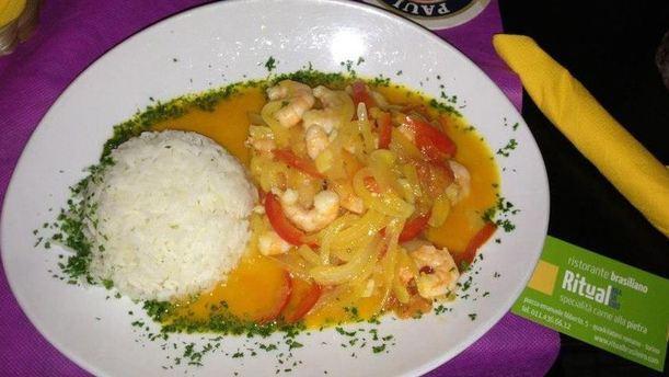 Ritual piatto brasiliano
