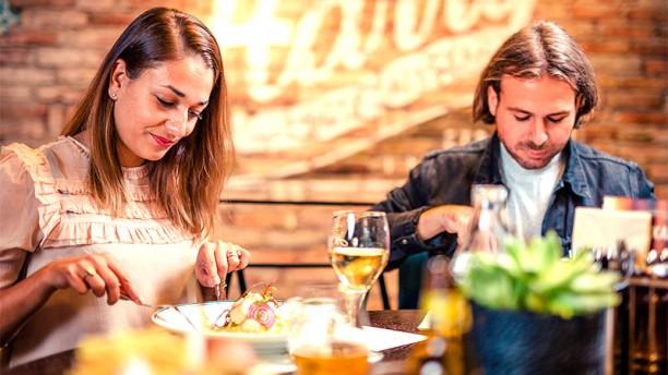 Harrys Kalmar Restaurangens rum