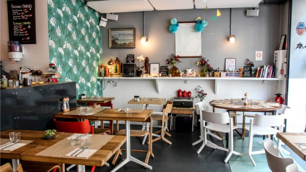 Le Café FauveParis Salle Café Fauve