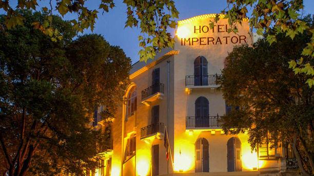 """L'Enclos de la Fontaine - Hôtel Imperator Bienvenue au restaurant """"L'Enclos de la Fontaine"""""""