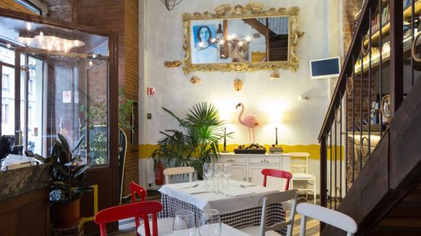 Bottega Sicula Sala del ristorante