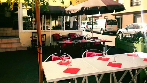 Le Seventies (Moules-Frites) Terrasse