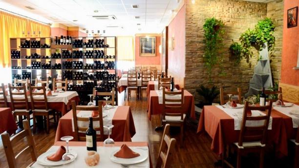 Milonga's Restaurante Argentino Vista sala
