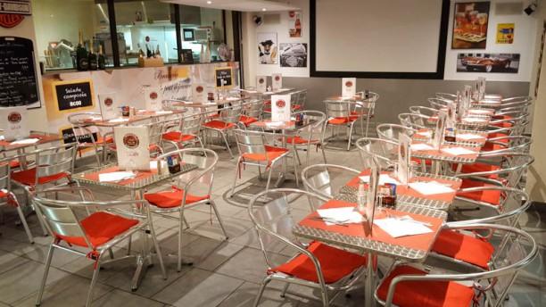 Dolce Pizza & Café vue de l'intérieur