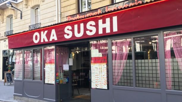 Okasushi (sushi sashi) Entrée
