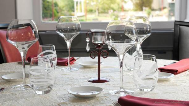 La Fontaine des Saveurs Détail de la table