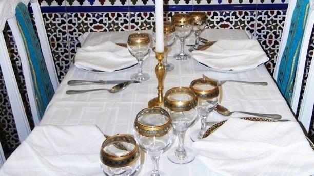 Maroc en Yvelines Table dressée