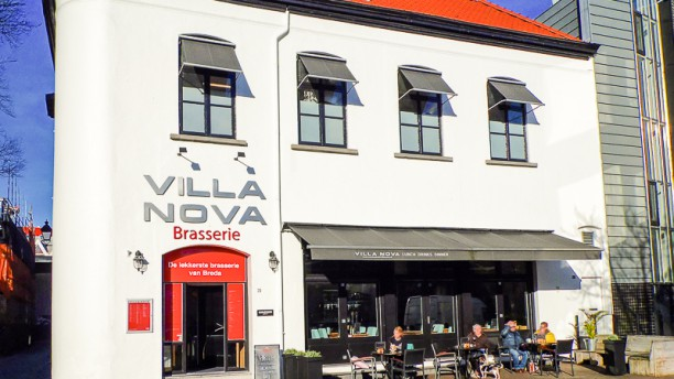 Brasserie Villa Nova Ingang