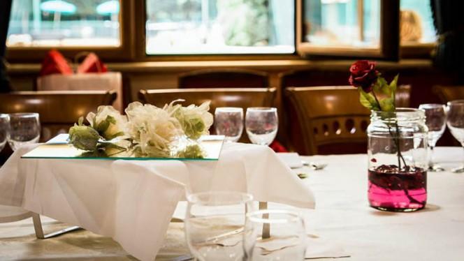 Sala ristorante - Dea del Parco, Rome