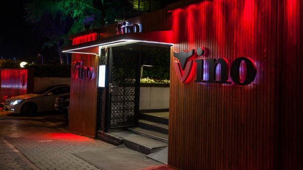 Vino Surf & Turf Entrance