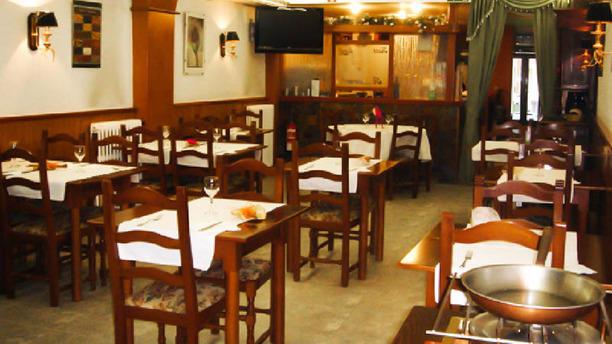 Hostal Sant Jordi Vista sala