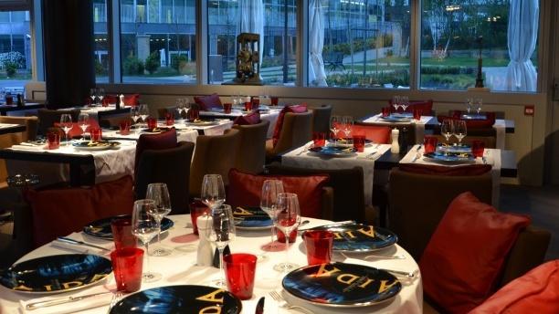 La Table des Artistes Salle du restaurant