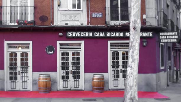 La Huerta de Casa Ricardo entrada