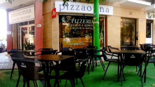Pizzaonna Ristorante La entrada