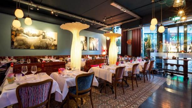Restaurant van den Berg Vista sala