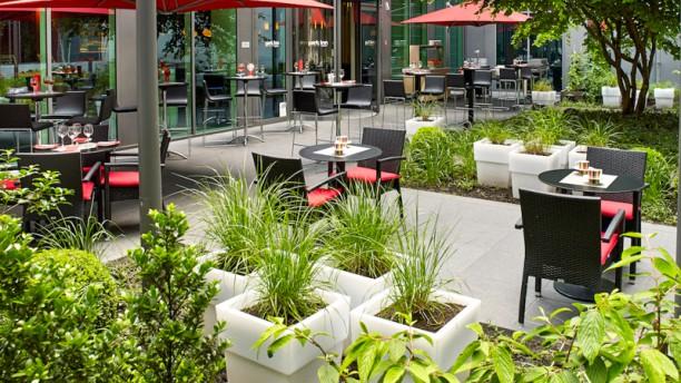 RBG Bar & Grill Terrasse