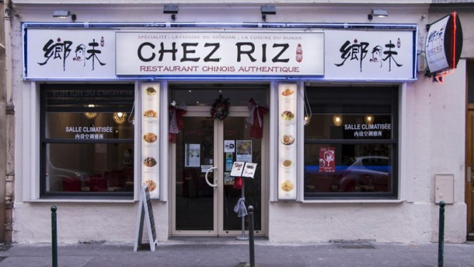 La devanture - Chez Riz, Lyon