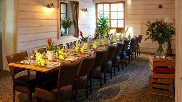 Garden & Cooking Interieur du restaurant : Salle RDC