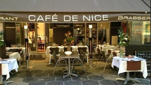 restaurant caf de nice nice 06000 avis menu et prix. Black Bedroom Furniture Sets. Home Design Ideas