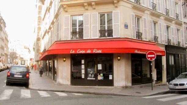 restaurant le coin de rues paris 75009 saint lazare avis menu et prix. Black Bedroom Furniture Sets. Home Design Ideas
