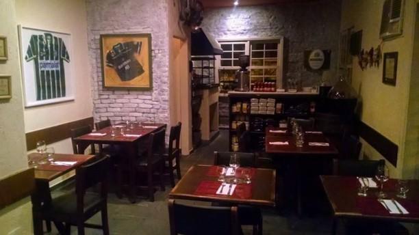 Innominato Osteria sala do restaurante